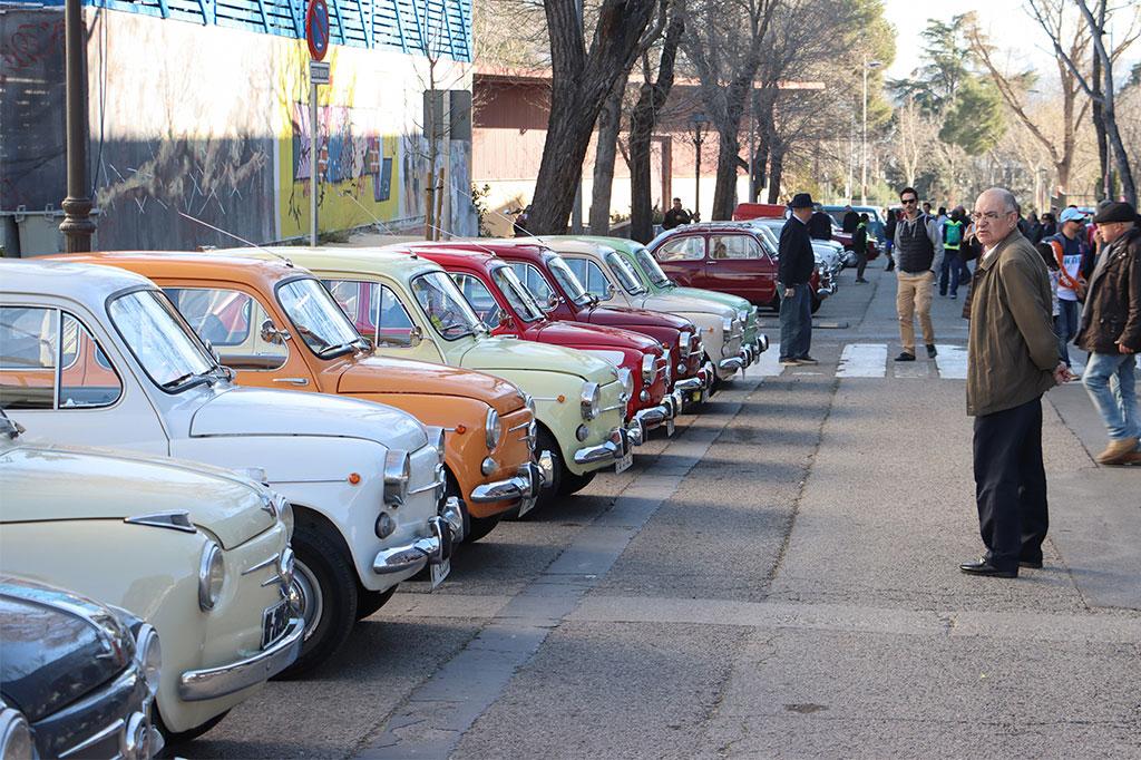 concentraciones de clasicos madrid, classicauto, feria coches clasicos