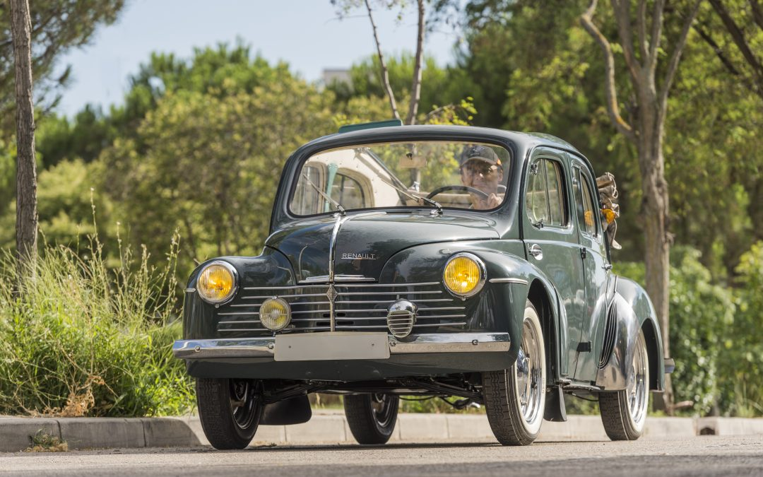 Renault 4 CV Saprar, un superviviente restaurado